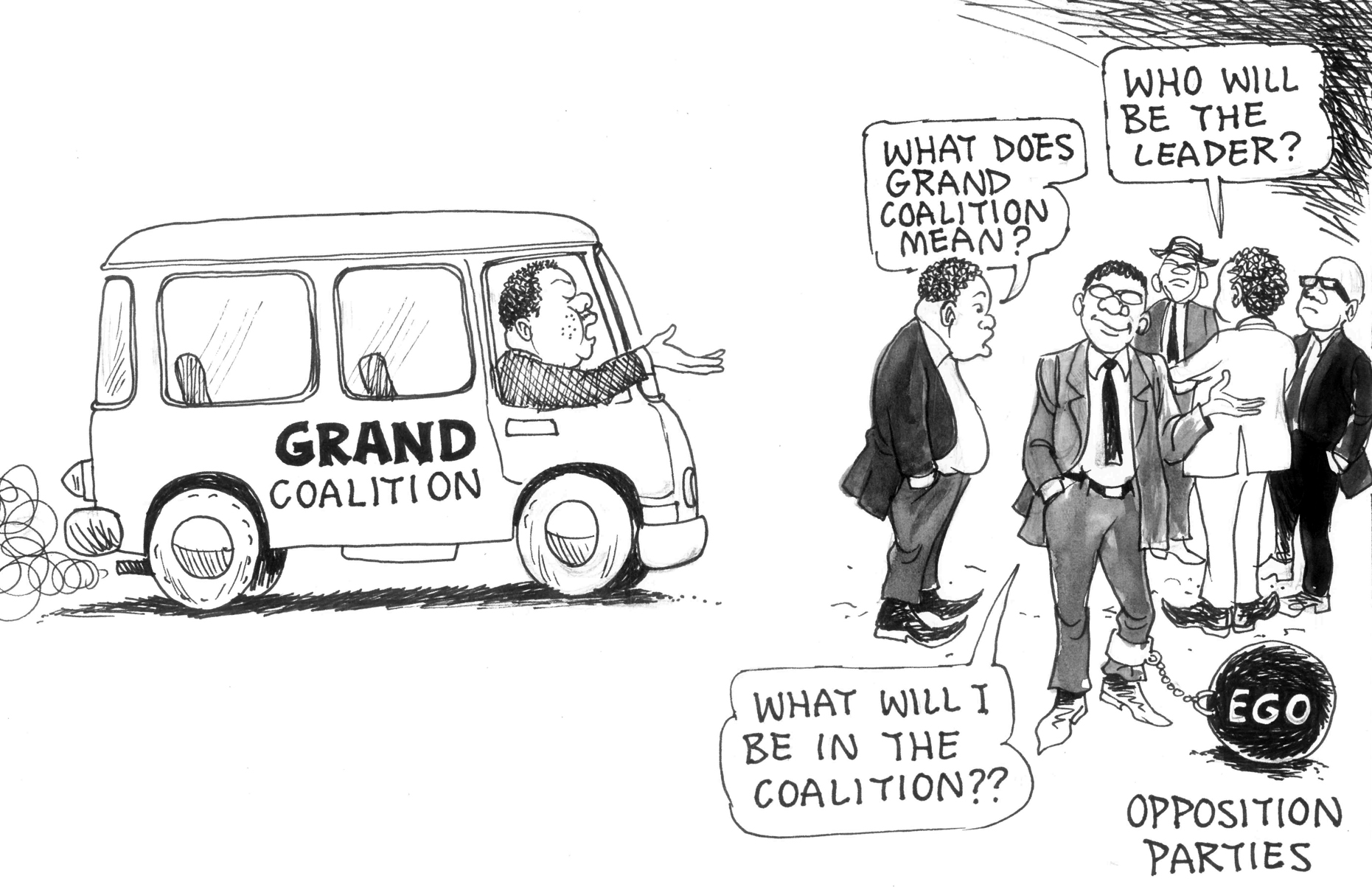 Cartoon credits to:http://www.thezimbabwean.co/2015/07/on-the-brink-of-civil-unrest/
